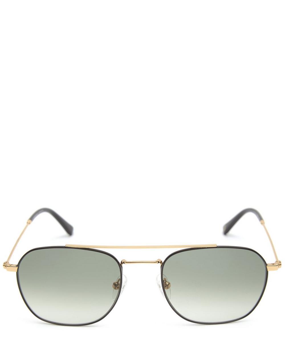 Stainless Steel Yuley Aviator Sunglasses