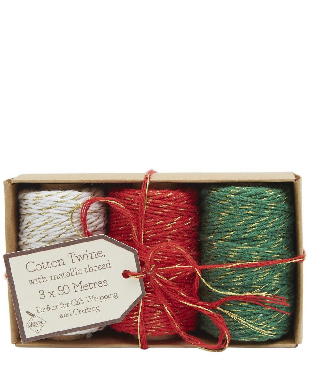 Cotton Twine Set of Three