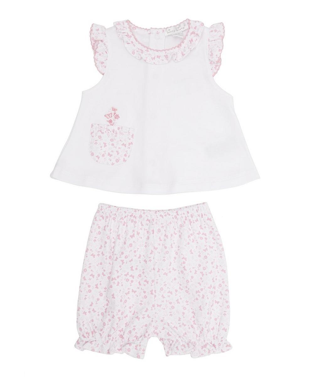 Mini Blooms Sun Suit Set 0-24 Months