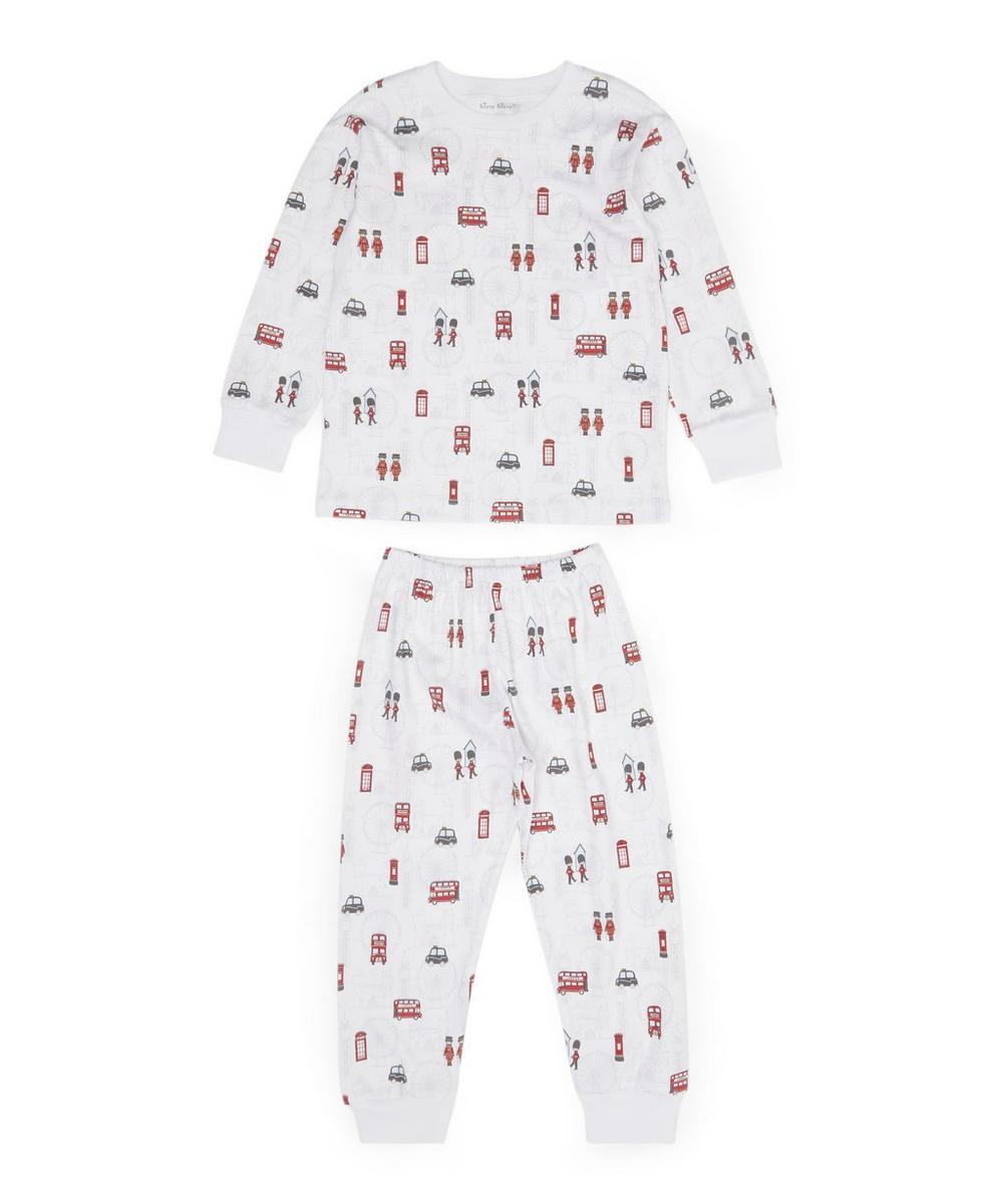 London Print Pyjama Set 2-6 Years