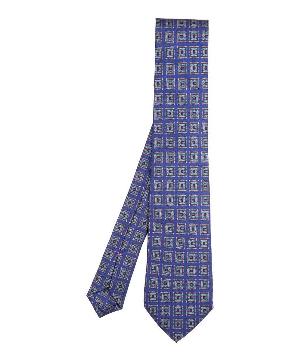Tiverton Printed Silk Tie