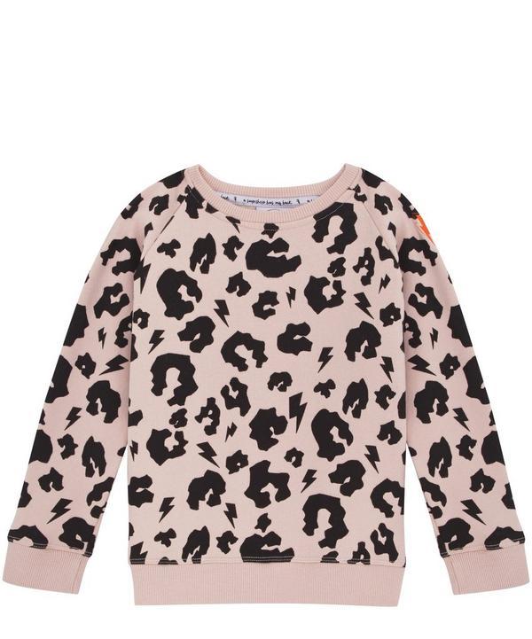 Leopard Print Sweatshirt 1-7 Years