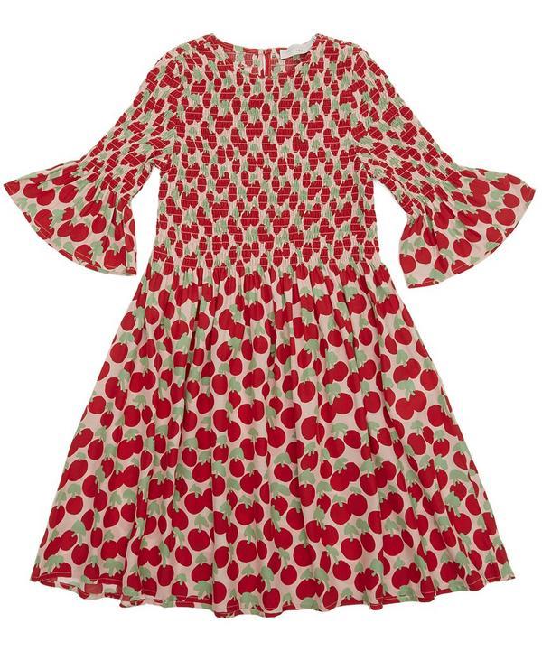 Cherry Smock Dress 2-8 Years