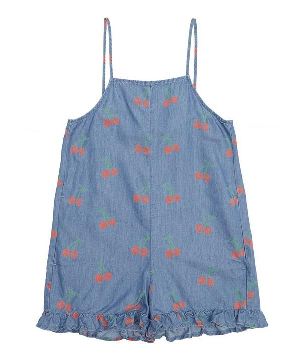 Cherry Chambray Playsuit 2-8 Years