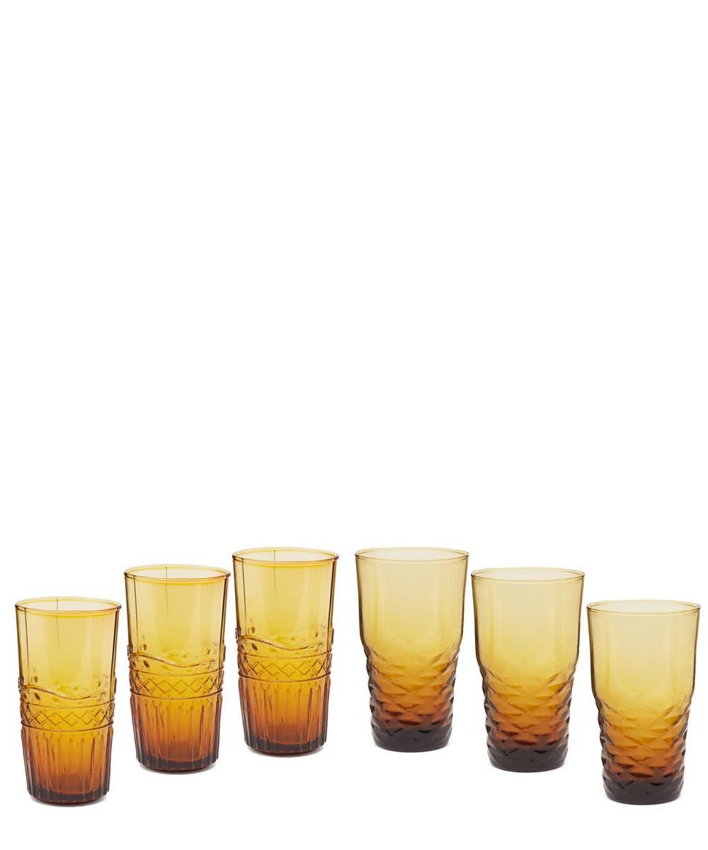 Freya Water Glasses Set of 6