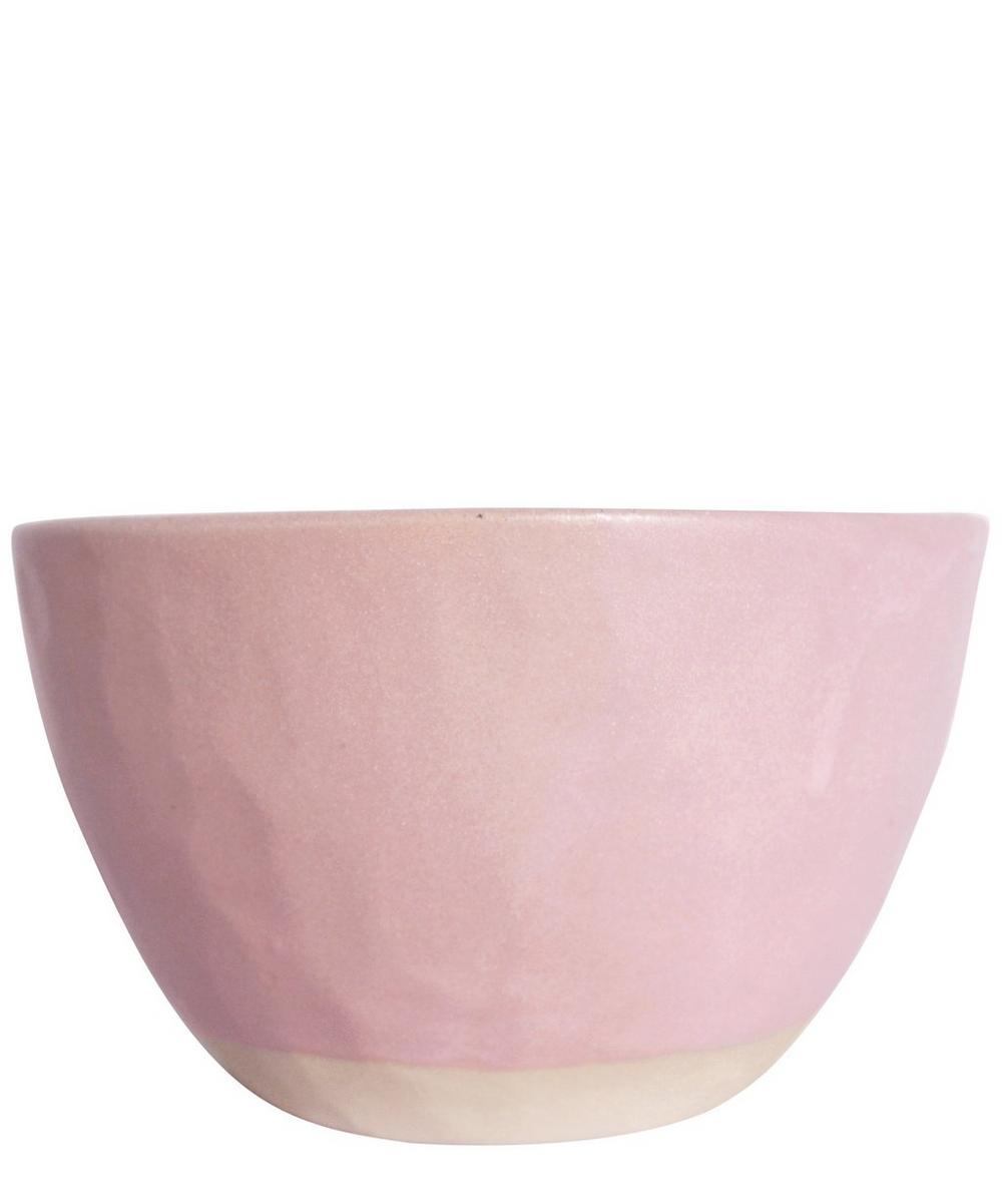 Clay Beetroot Rice Bowl