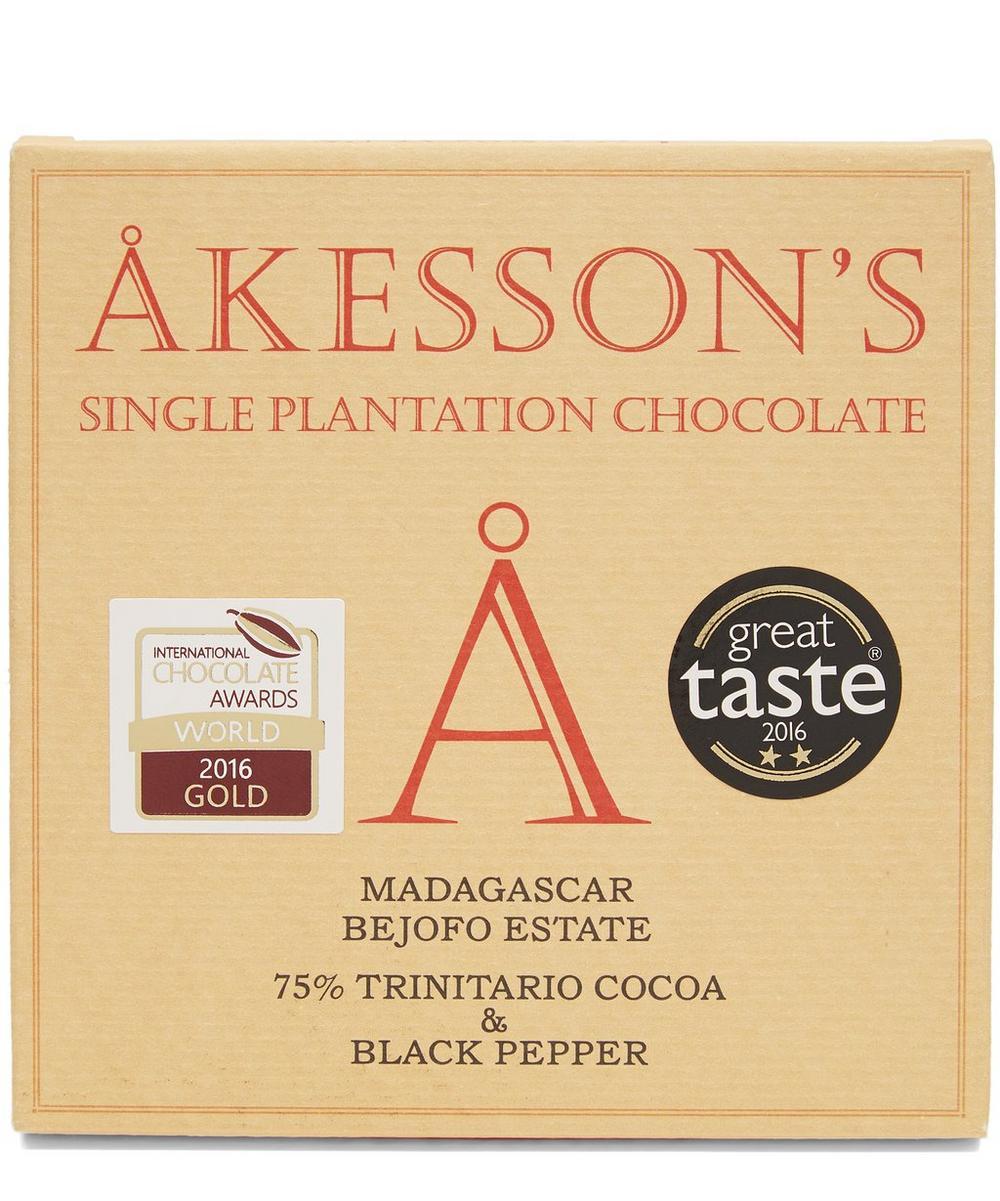 Madagascar 75% Trinitario Cocoa & Black Pepper Bar 60G