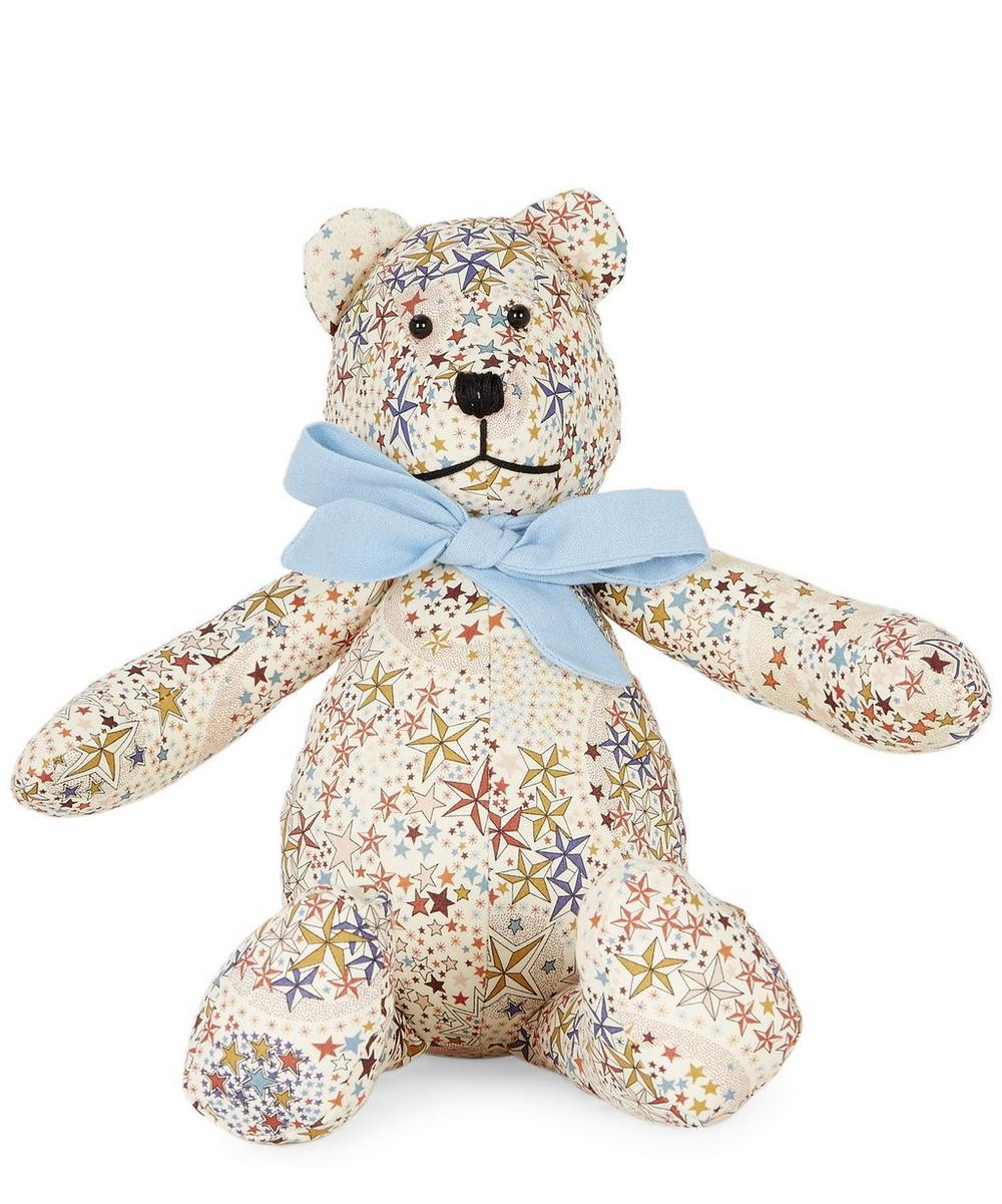 Small Adelajda Liberty Print Bear