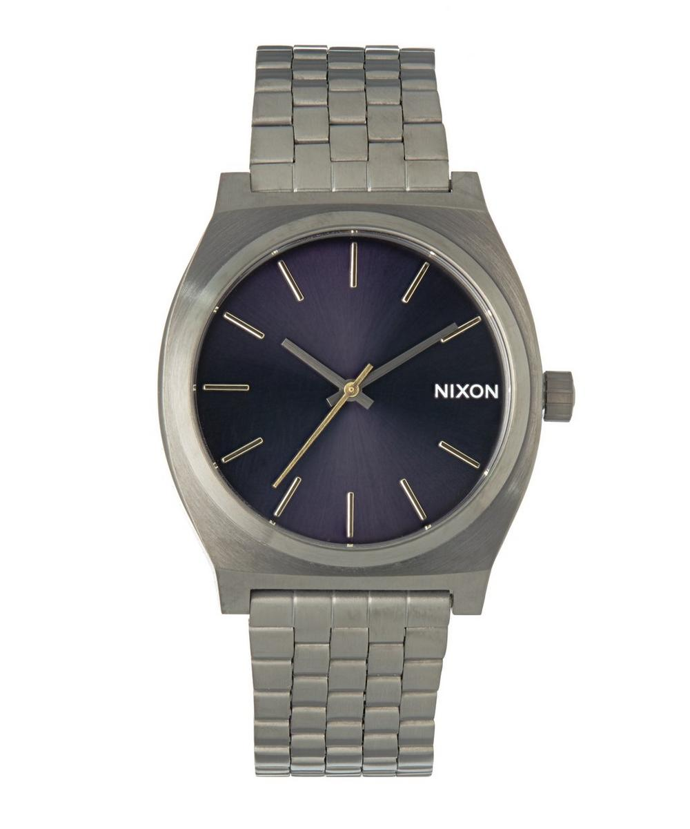 Time Teller Gunmetal Indigo Watch