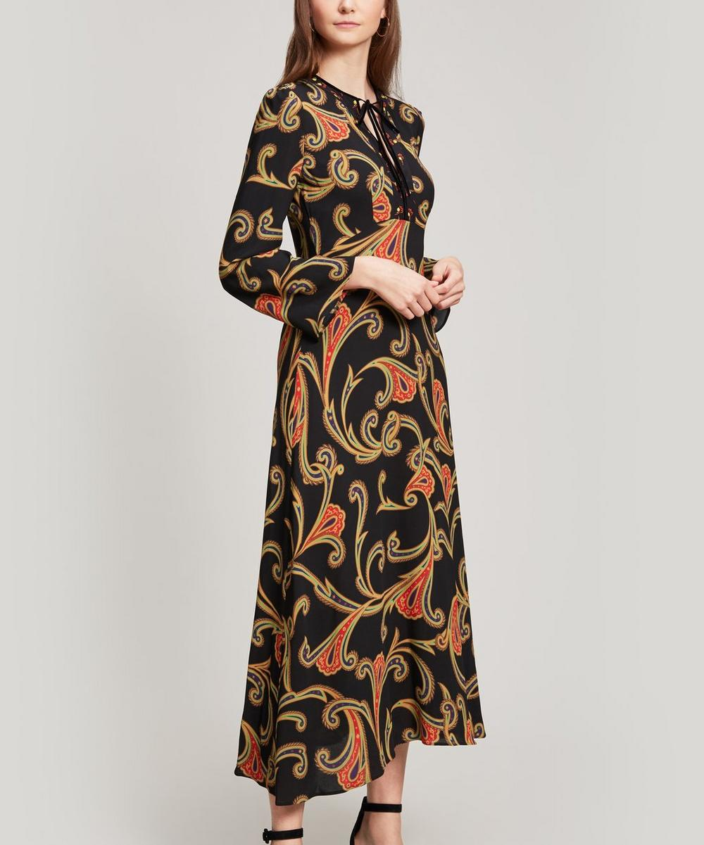 Rosolite Scroll Print Dress