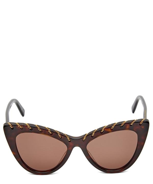 Falabella Chain Cat-Eye Sunglasses