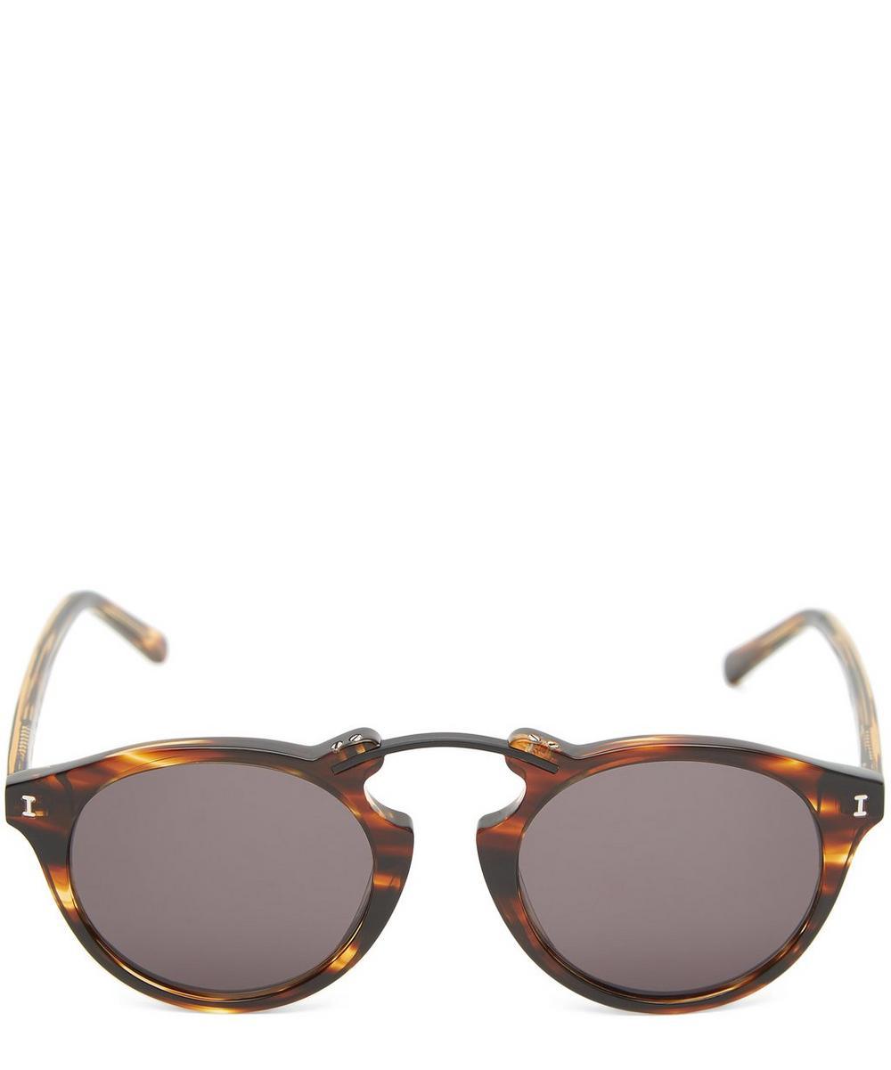 Sullivan Round Tortoiseshell Sunglasses