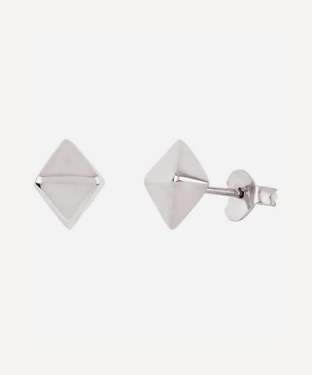 Silver Mini Almaz Stud Earrings