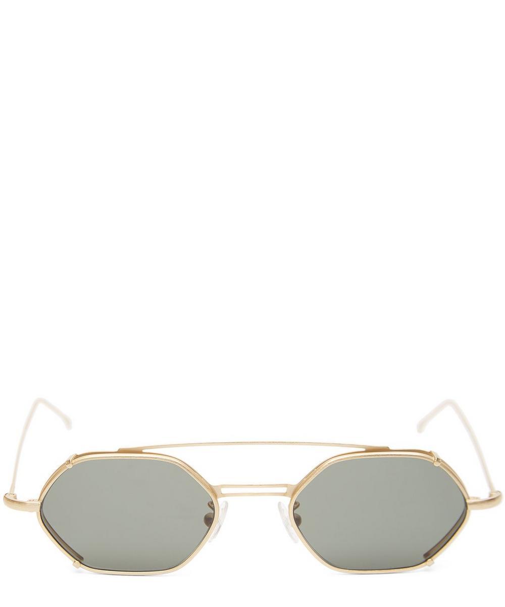 Lola Hexagonal Sunglasses