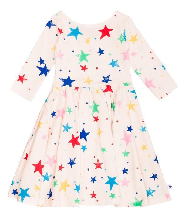 Star Long Sleeve Dress 2-8 Years