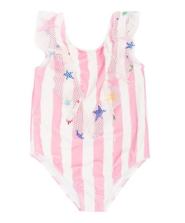 Stripe Swimsuit 2-8 Years