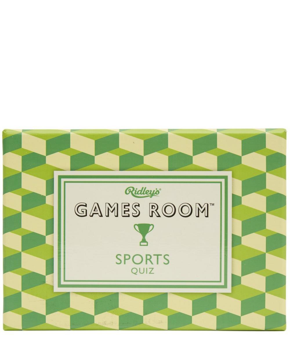Games Room Sports Quiz