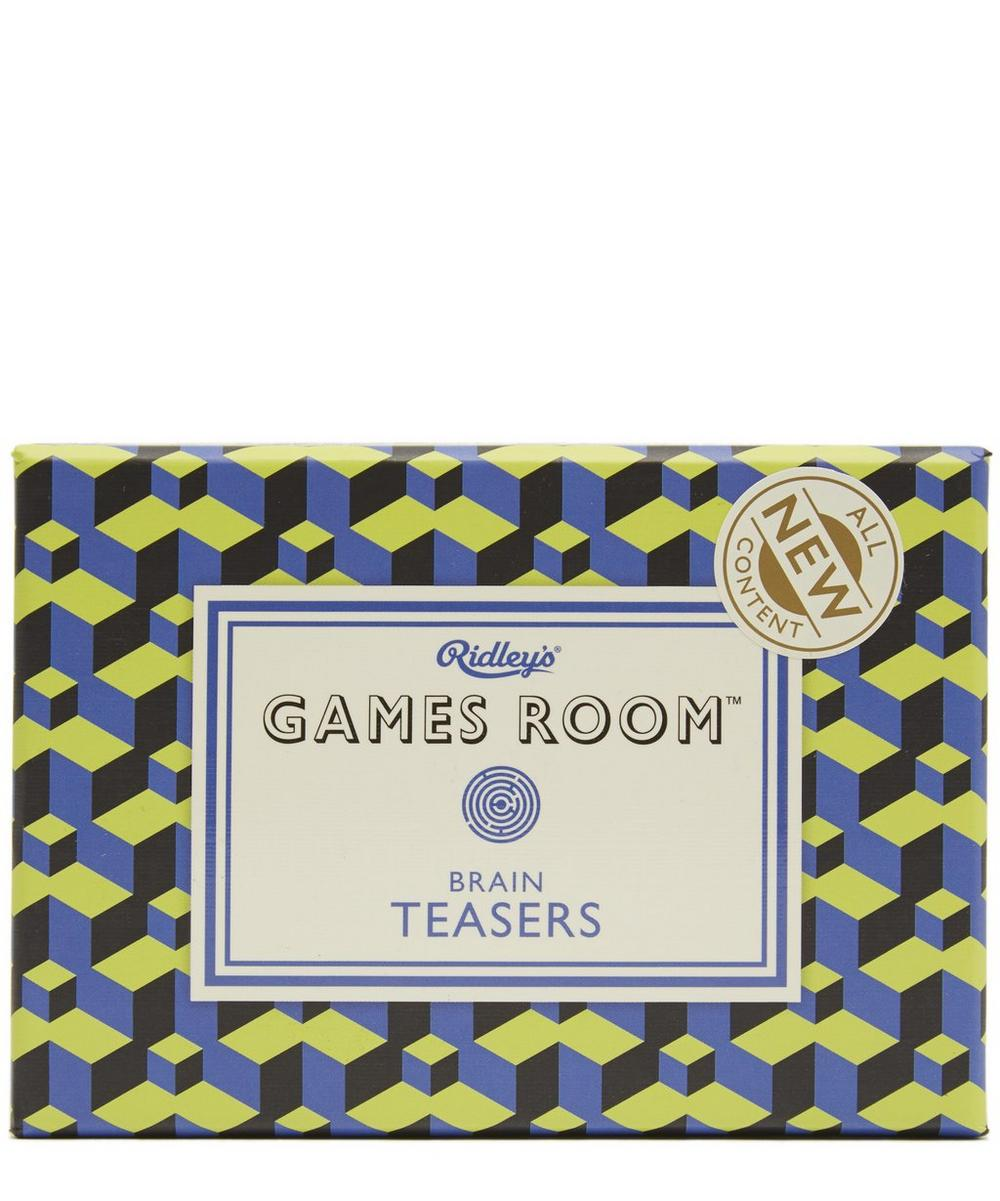 Games Room Brain Teasers