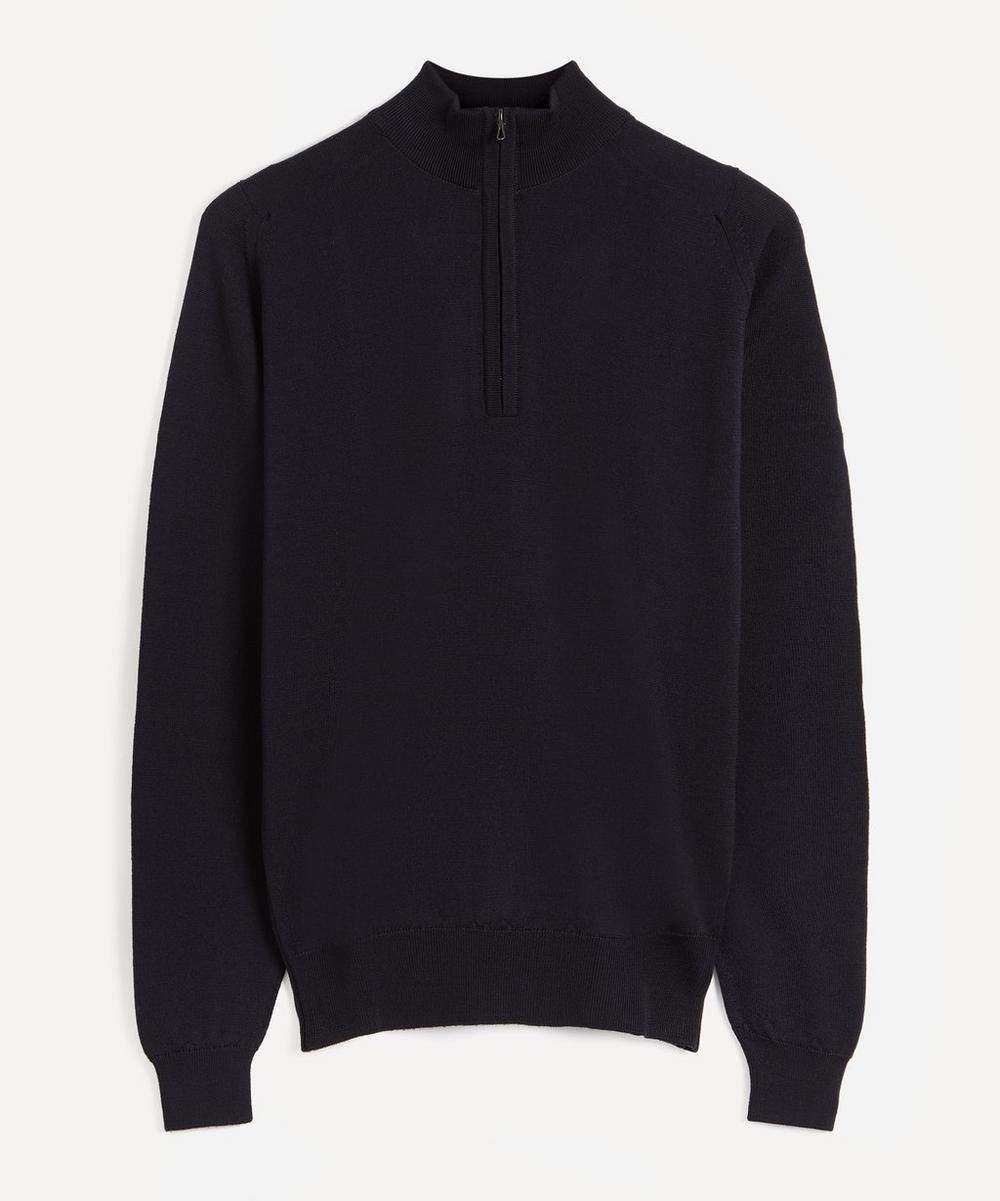 Tapton Half-Zip Merino Wool Jumper