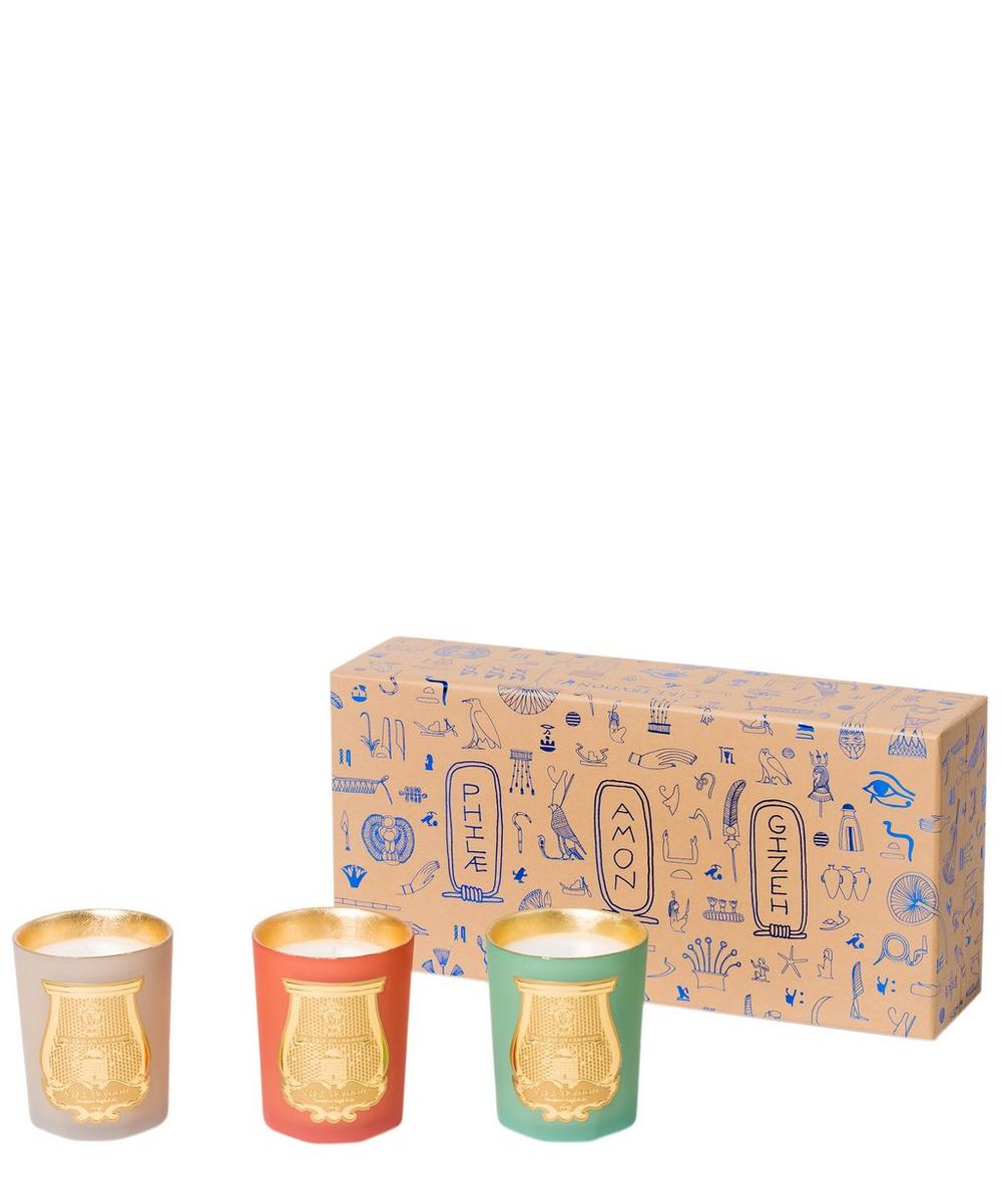 Odeurs Degypte Mini Scented Candle Trio