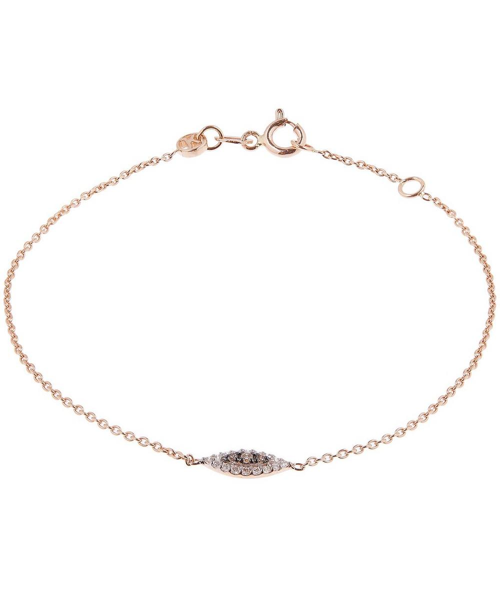 Rose Gold 10Th Eye Haven Diamond Bracelet