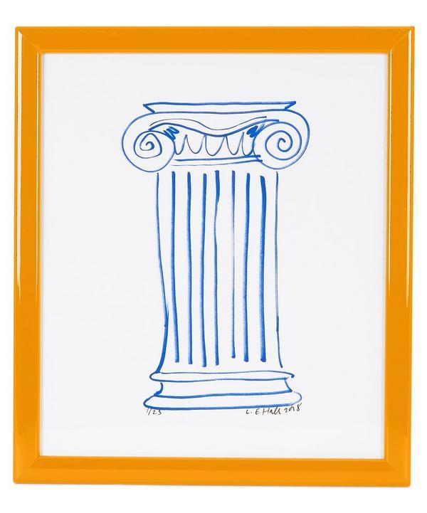 Column Small Framed Print