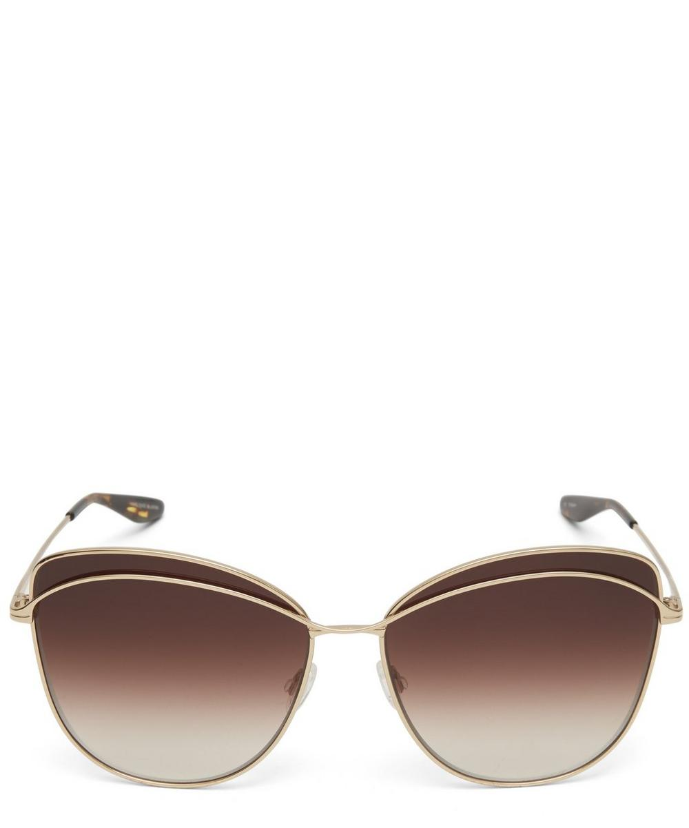 Captivant Cat-Eye Sunglasses