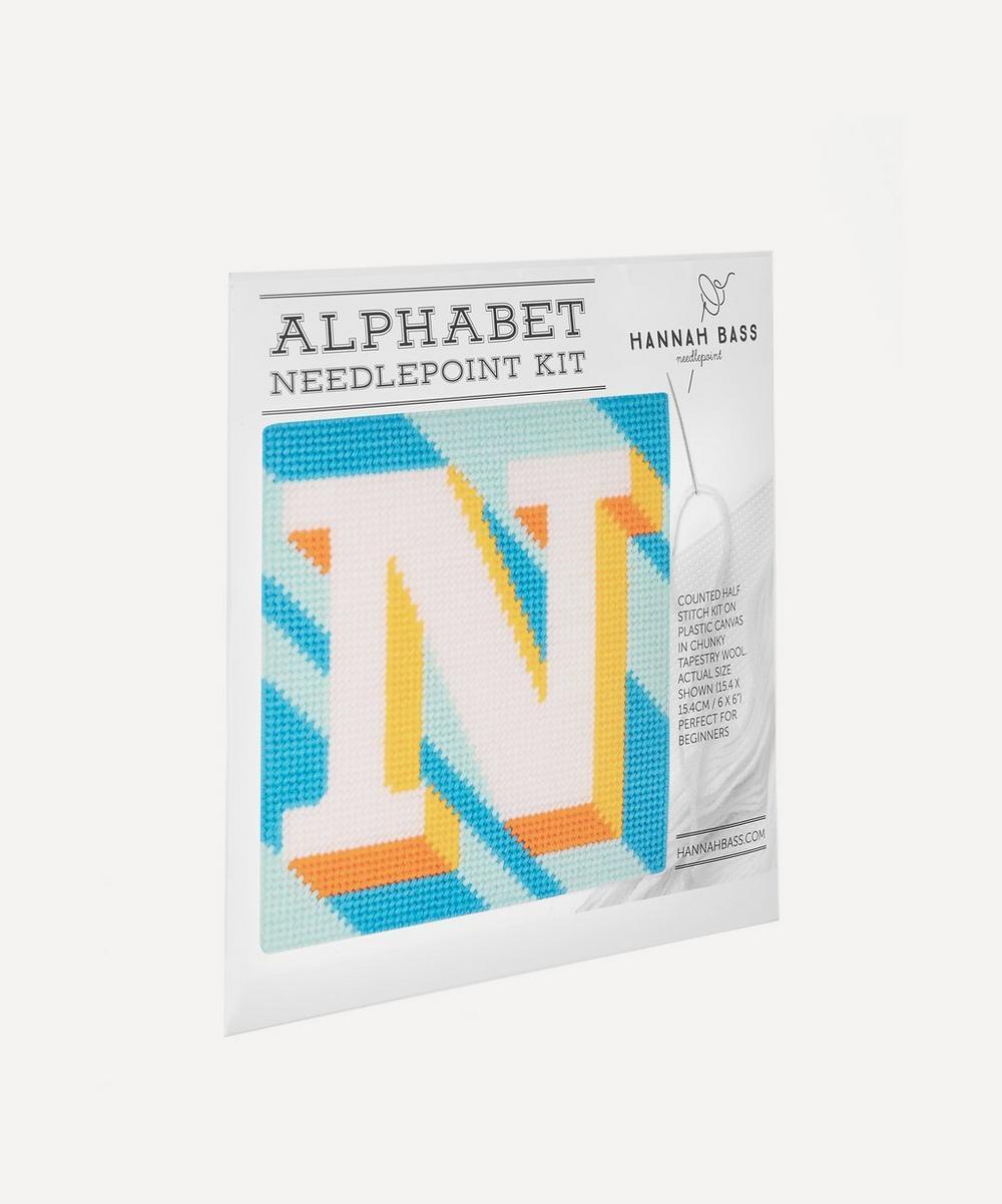 Letter 'N' Needlepoint Kit