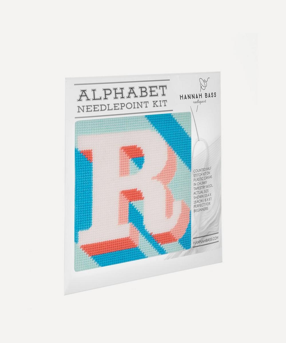 Letter 'R' Needlepoint Kit