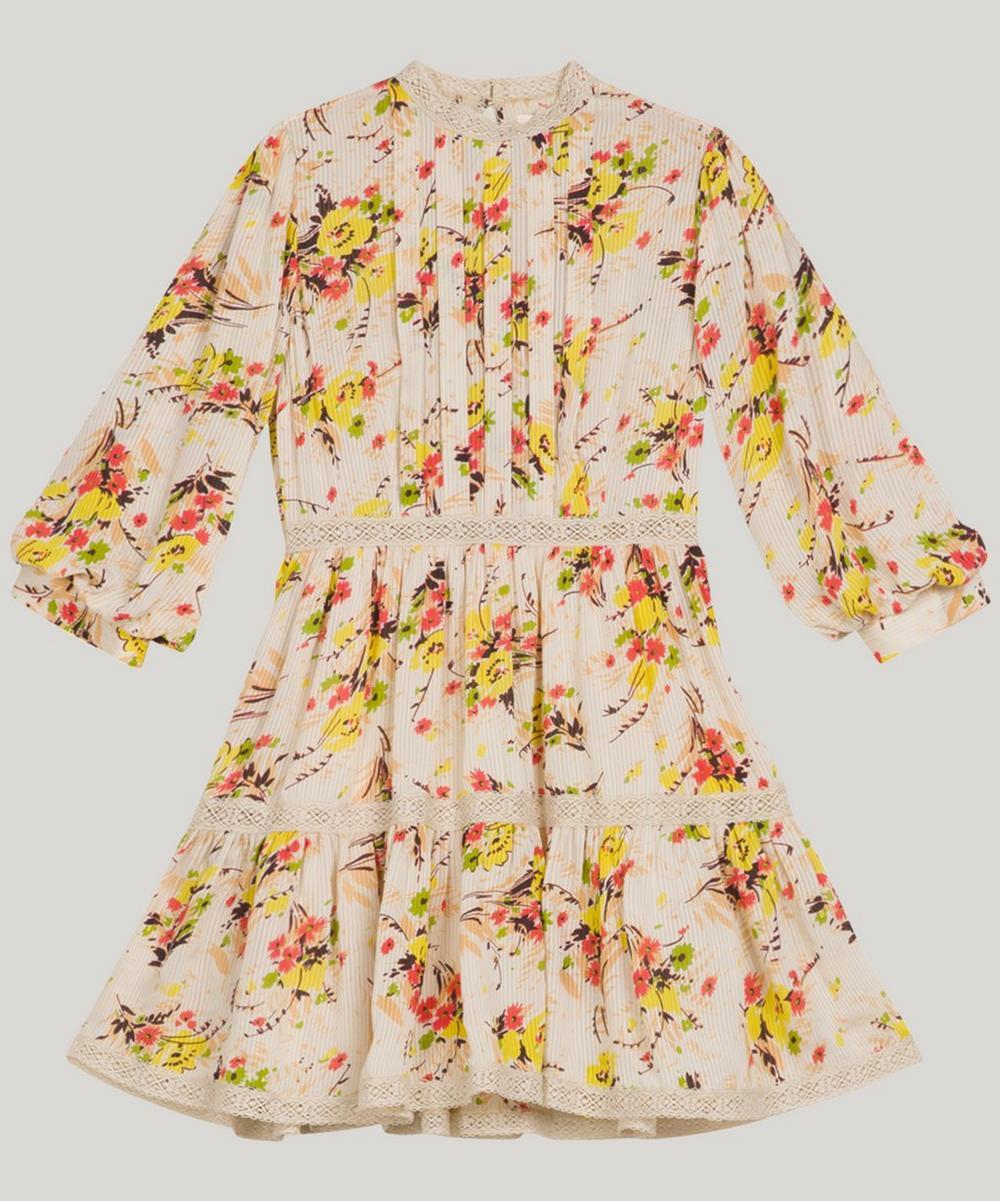 Delicate Semi Mini Dress Spring Dress