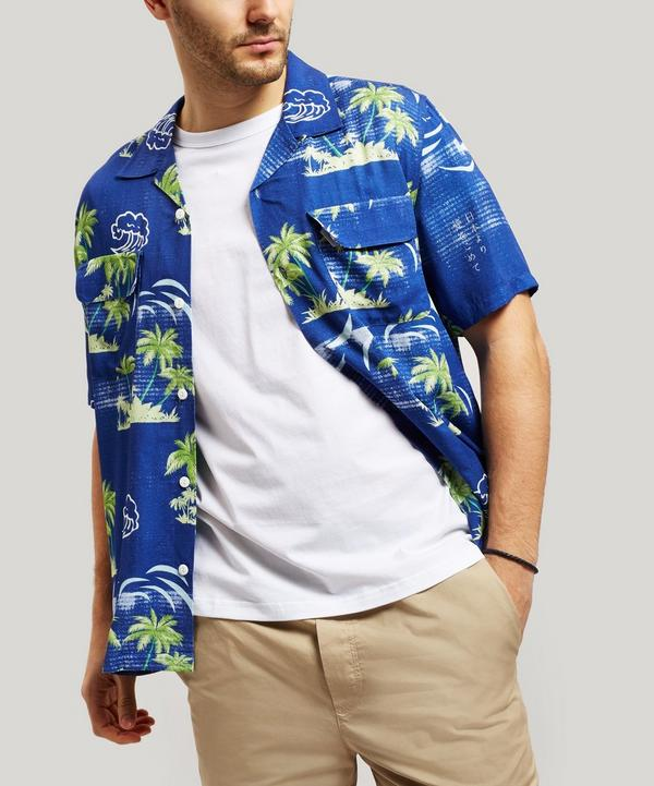 Garage Palm Tree Print Shirt
