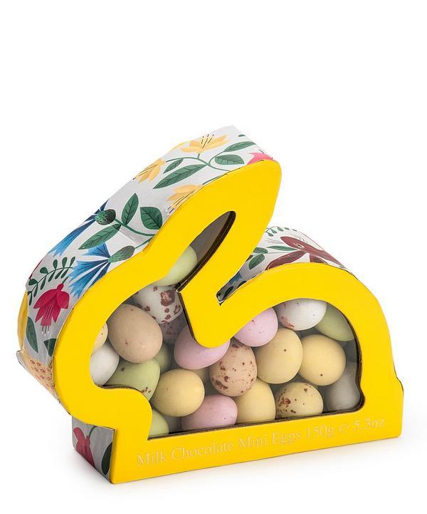 Rabbit-Shaped Yellow Box With Mini Eggs 150g