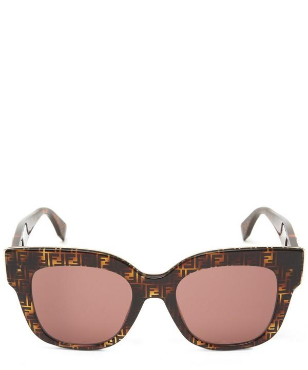 Oversized Rounded Square Sunglasses