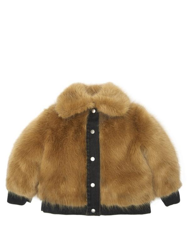 Oversized Faux Fur Jacket 4-8 Years