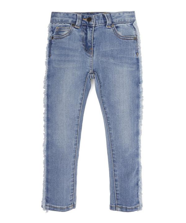 Fringed Denim Jeans 2-8 Years
