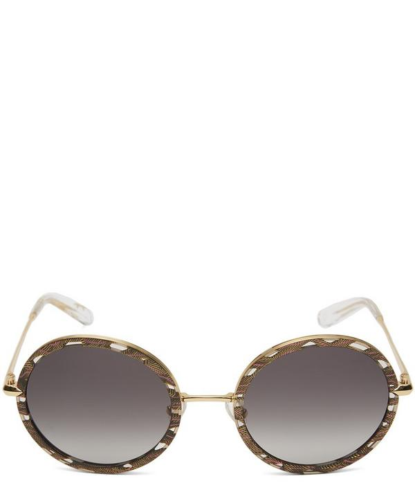Gold-Plated Louisa Sunglasses