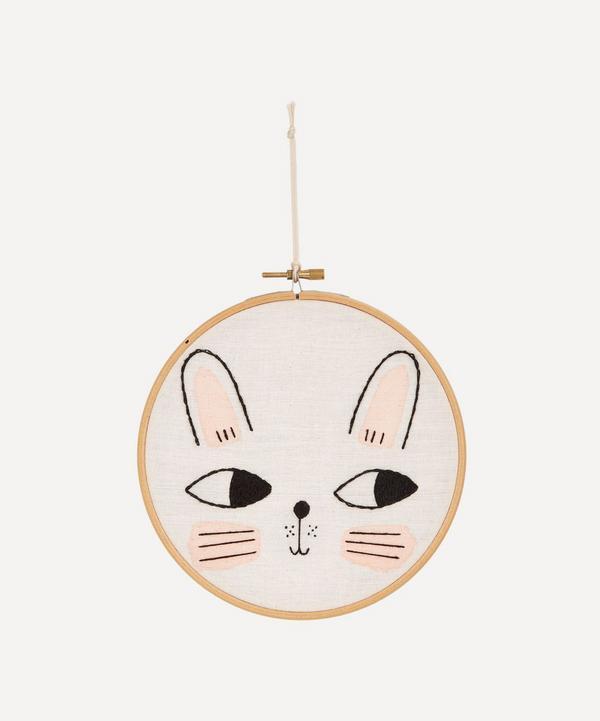 Bunny Embroidered Wall Art