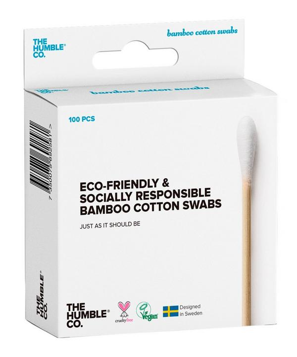 Natural Bamboo Cotton Swabs