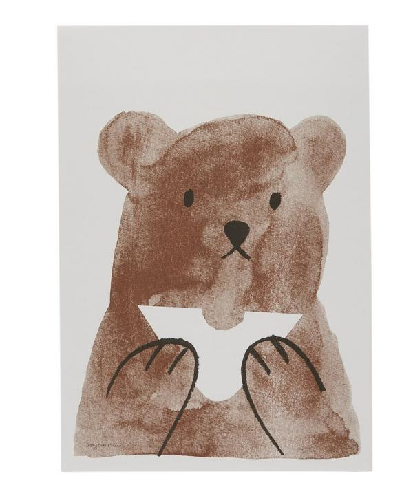 Butty Bear A3 Print