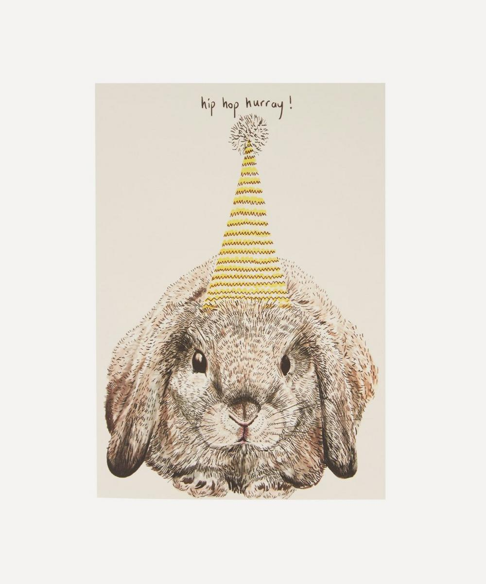 Party Bunny Birthday Card