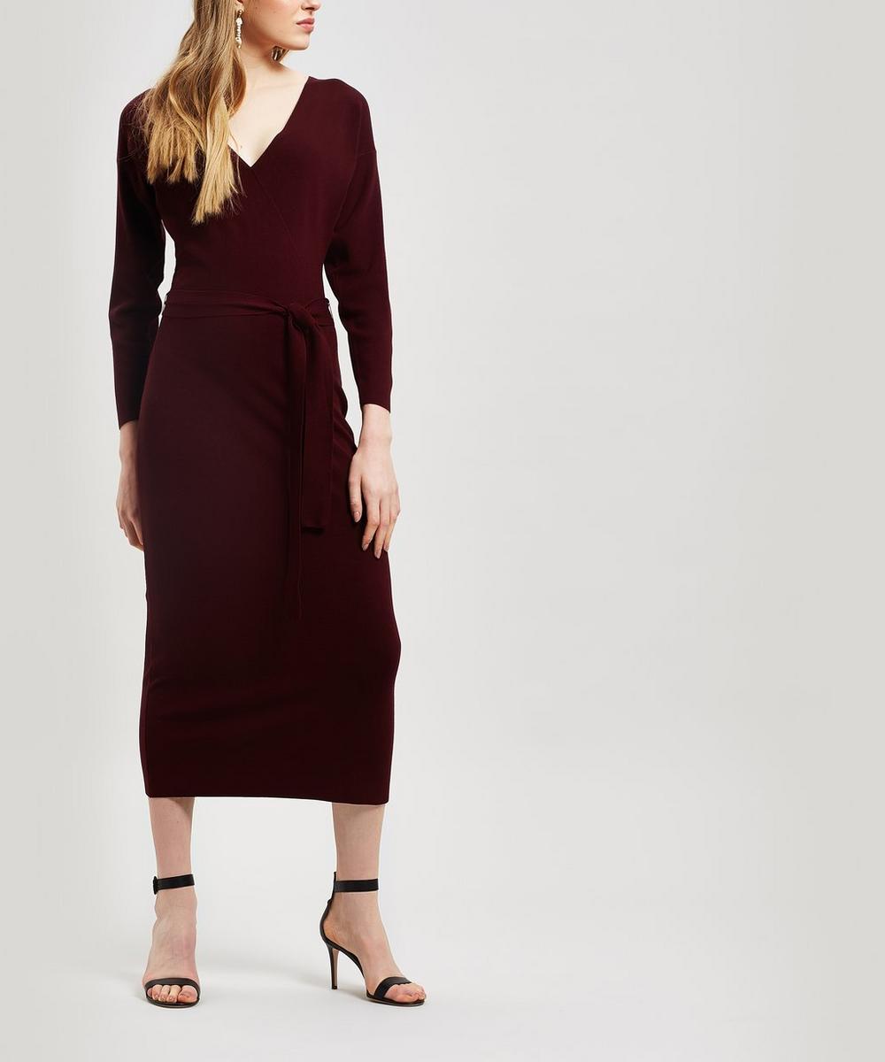 PALOMA WOOL | Betancor Drop Shoulder Midi-Dress | Goxip