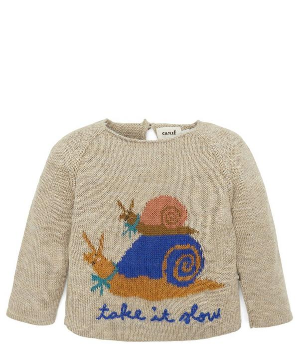Take It Slow Raglan Sweater 6-24 Months