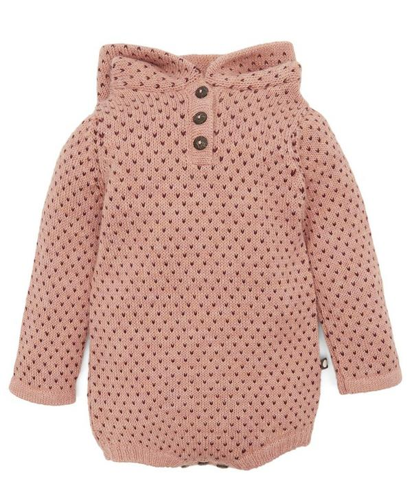 Hooded Dot Onesie 6-24 Months