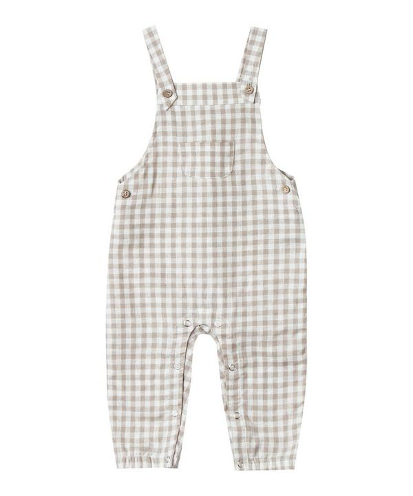Gingham Overall 3-24 Months