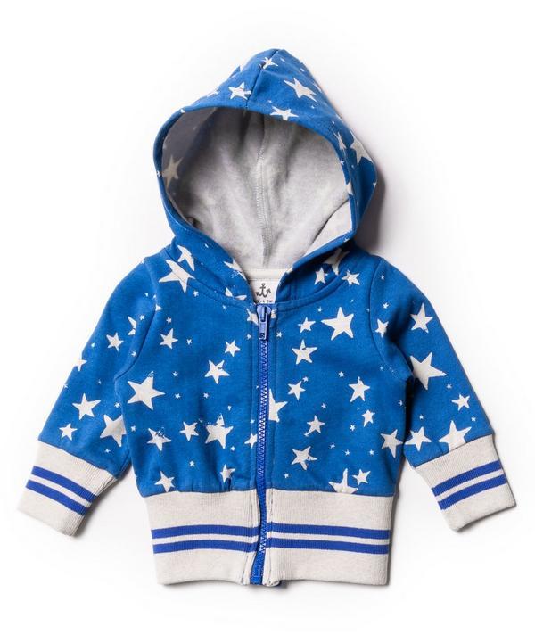 Star Hoodie 3-24 Months