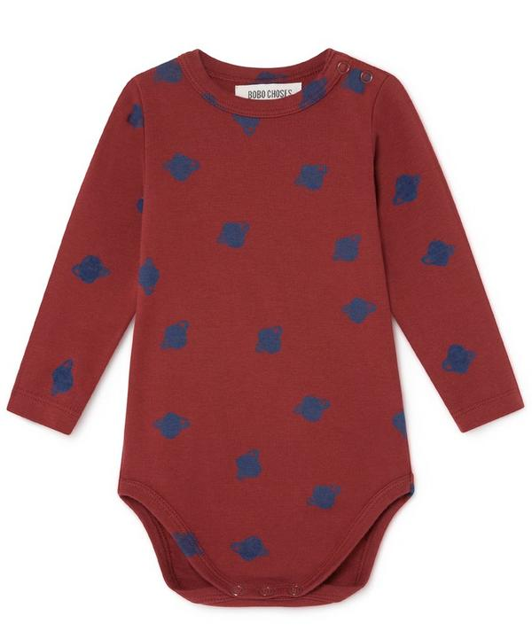 All-Over Small Saturn Long-Sleeved Body 3-6 Months