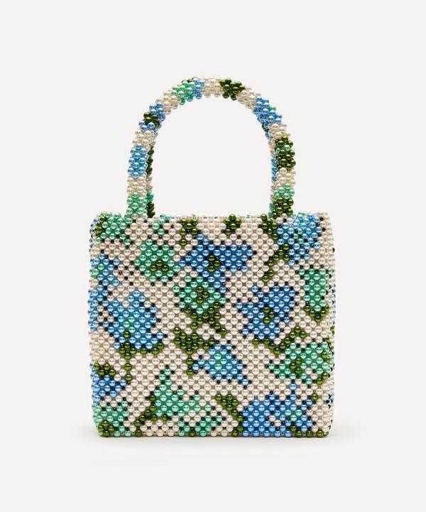 x Liberty Faux Pearl Beaded Handbag