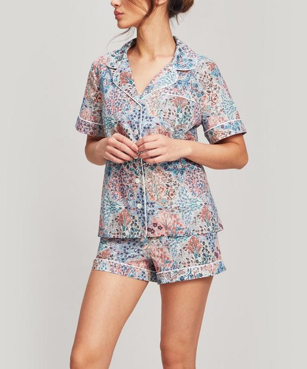 Henlow Tana Lawn Cotton Short Pyjama Set