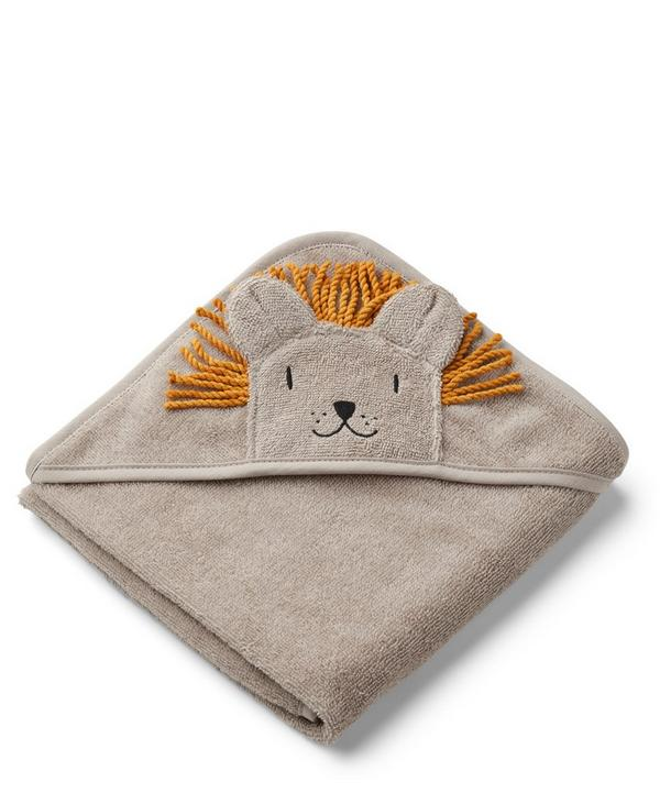 Augusta Hooded Lion Towel