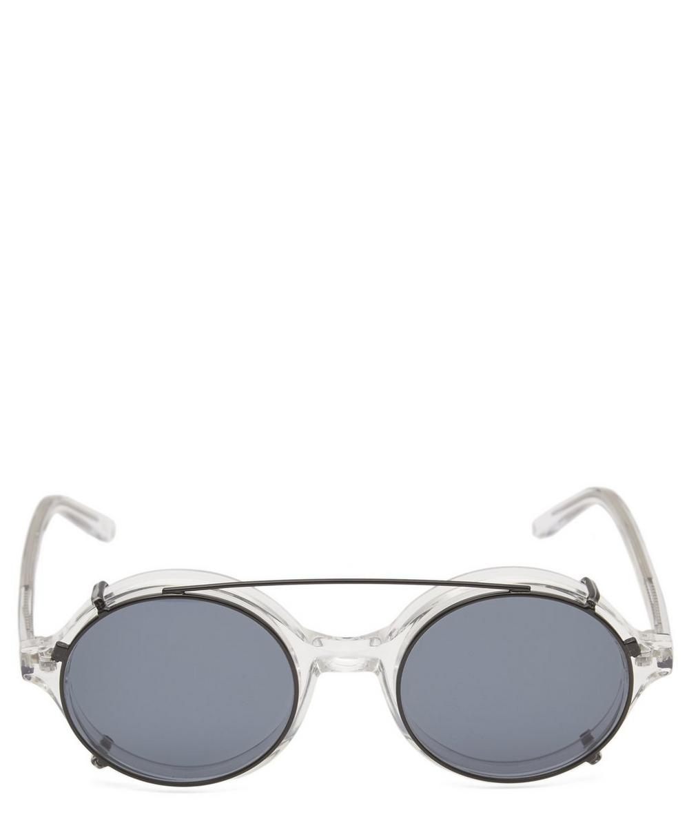 Doc Clip-On Acetate Sunglasses